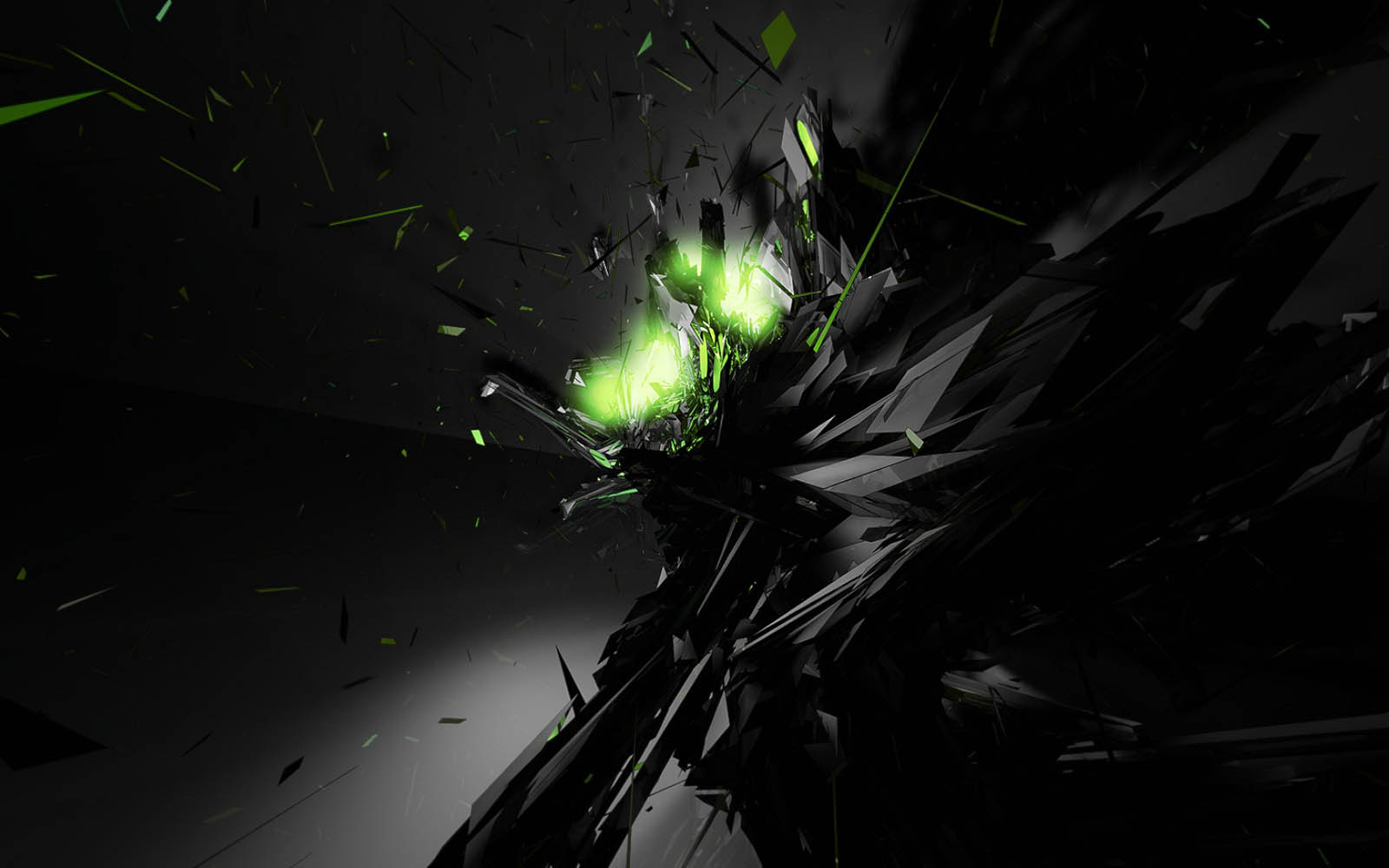 Wallpapers dark 3d wallpapers for Black 3d wallpaper