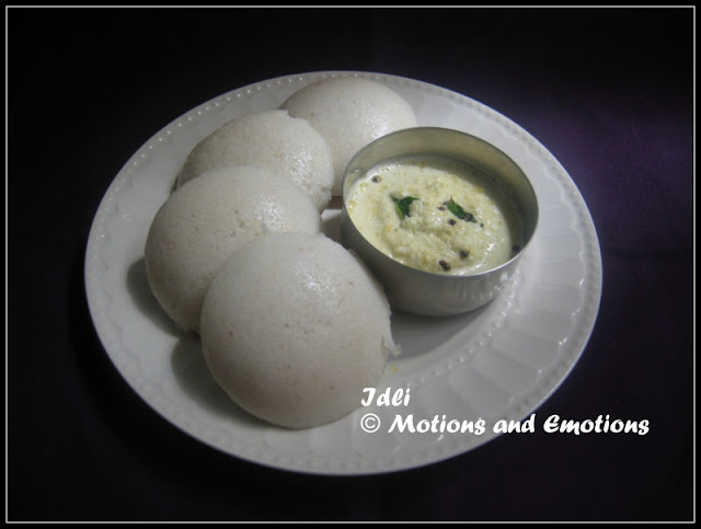 Idli / How to make Idli