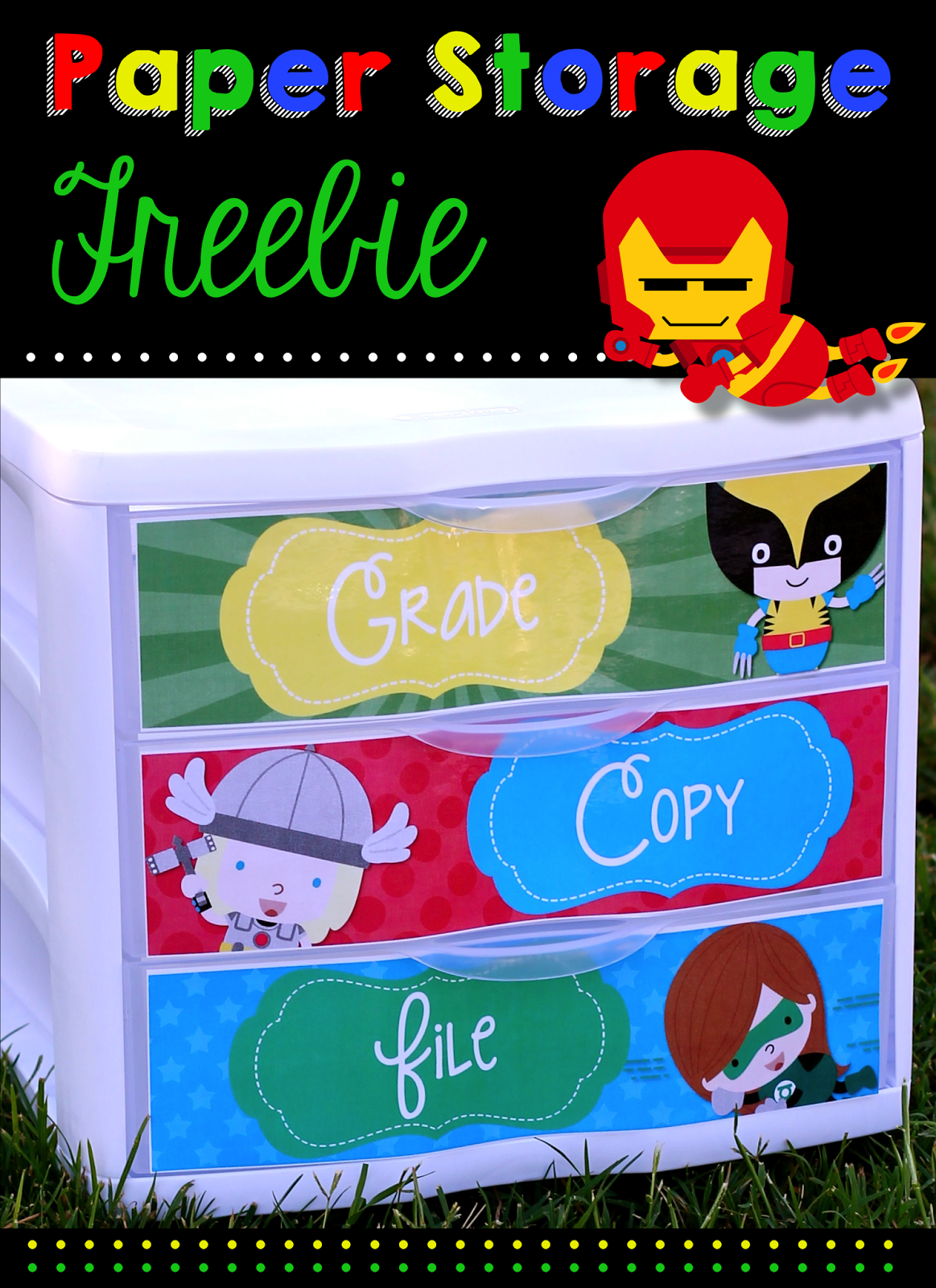 http://www.teacherspayteachers.com/Product/To-Do-Drawer-Freebie-Super-Hero-Edition-1288252