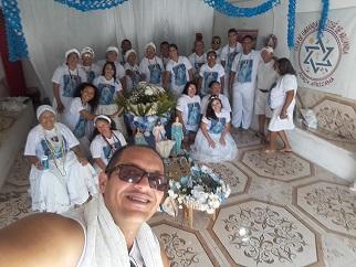 Membros da Casa Pai José e São Jeronimo/ Areia Branca -RN