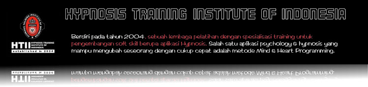 HYPNOSIS TRAINING INSTITUTE OF INDONESIA