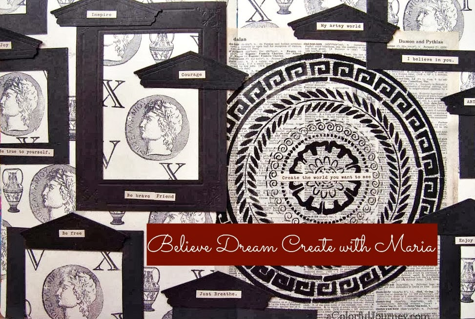 Believe Dream Create with Maria