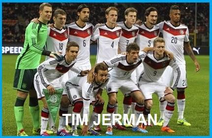 FINAL PIALA DUNIA 2014 TIMNAS JERMAN