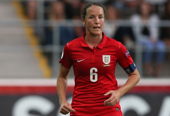 With 116 caps to her name, Casey Stoney is the most high-profile active gay footballer in England