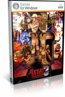 Download Capa 3D Game Metal Slug 3 PC