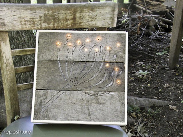 wood pallet art
