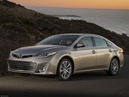 2013 Toyota Avalon Owners Manual