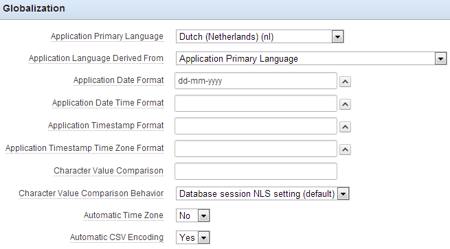 Date format in oracle