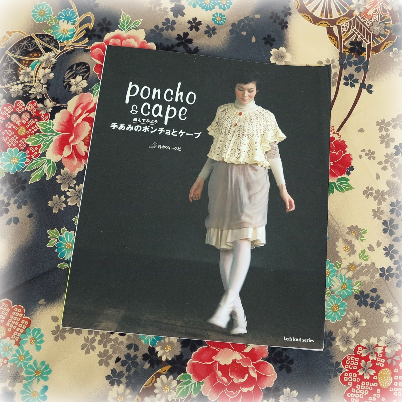 ByHaafner, japanese crochet book, poncho & cape