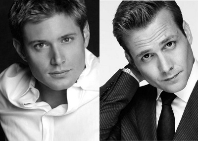 Jensen Ackles and Gabriel Macht