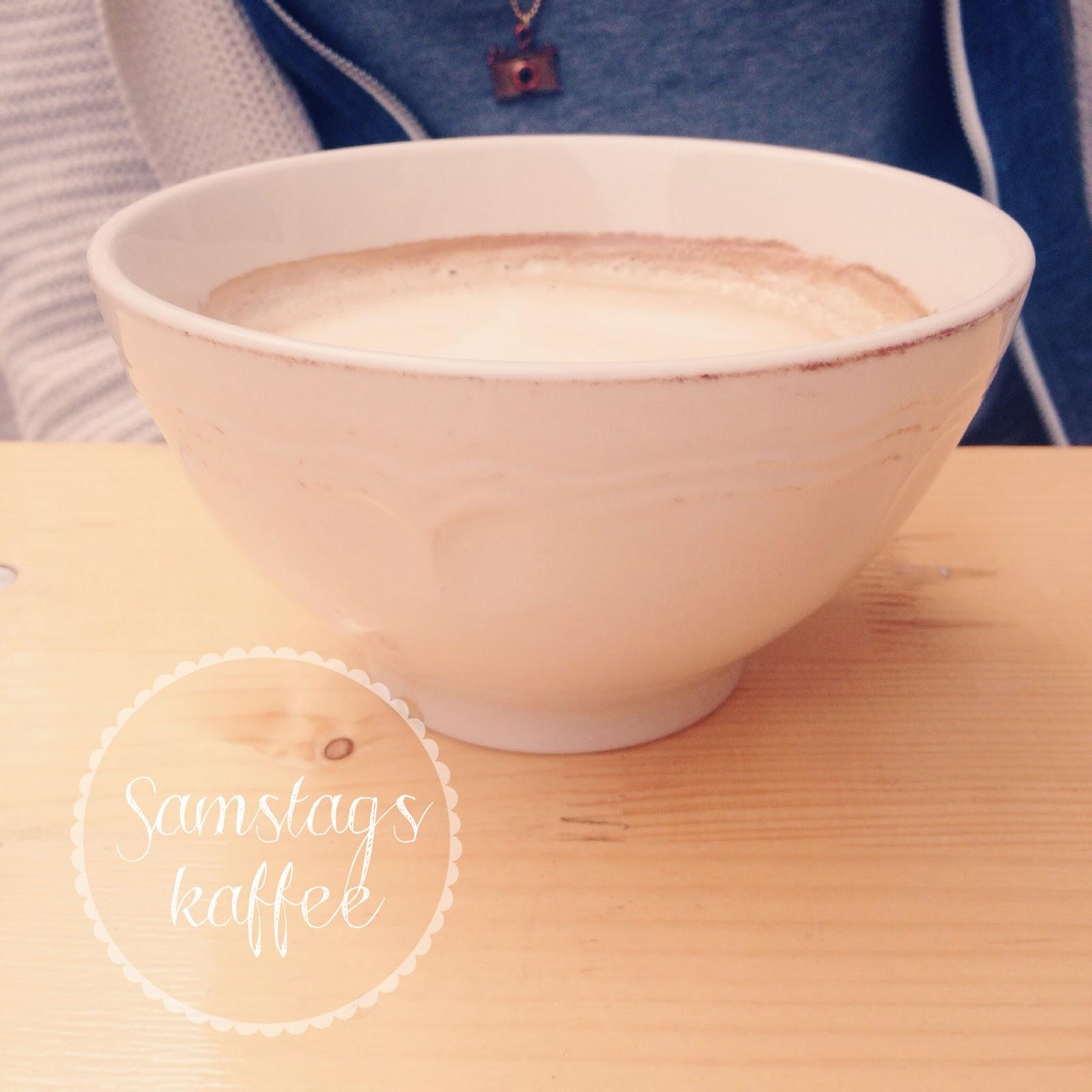 Samstagskaffee Milchkaffee