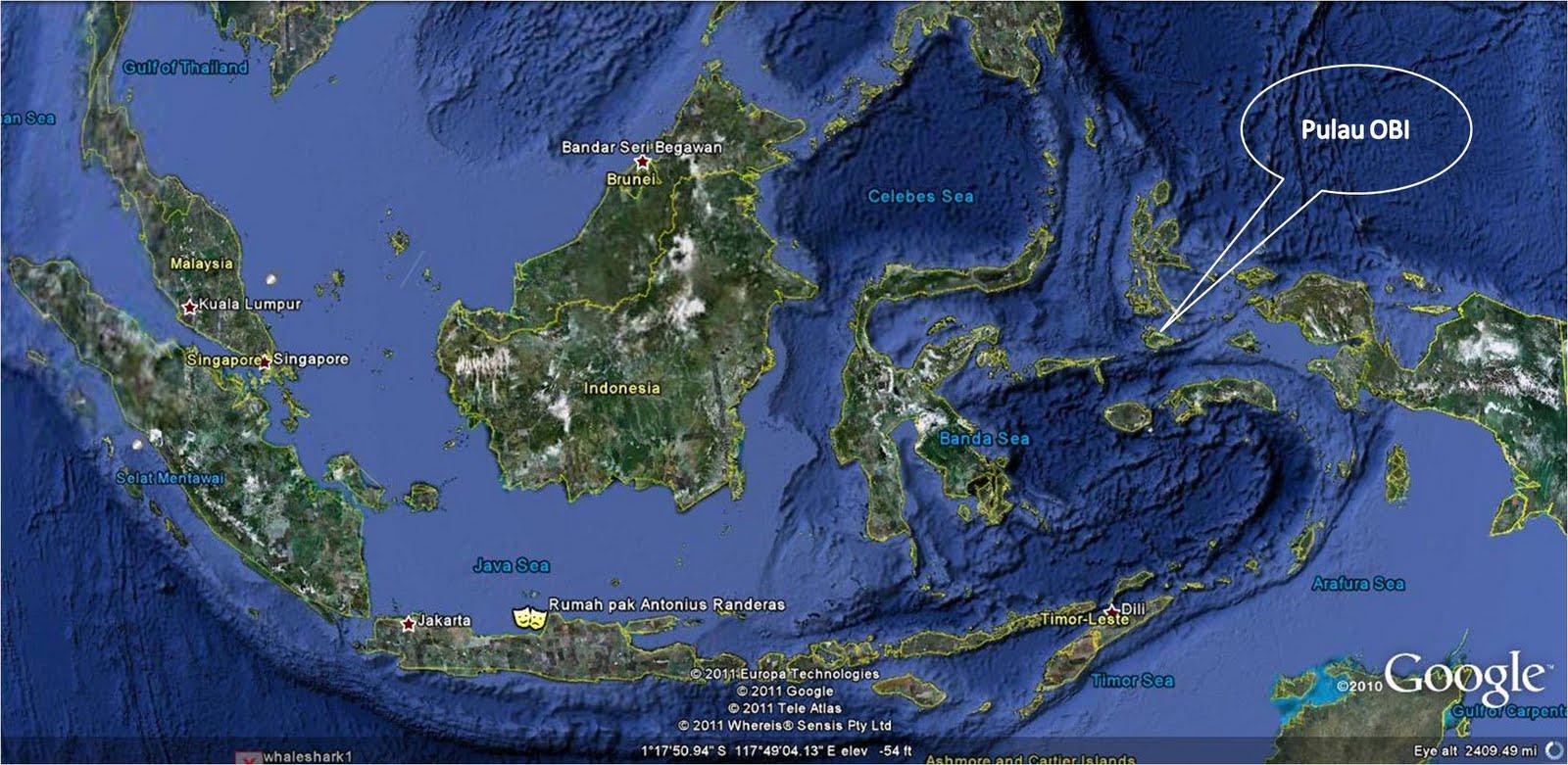 Potensi tambang di Pulau Obi Halmahera Selatan - Ardi La