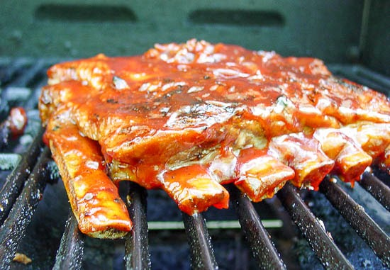 BBQ Grilled Pork Spare Ribs