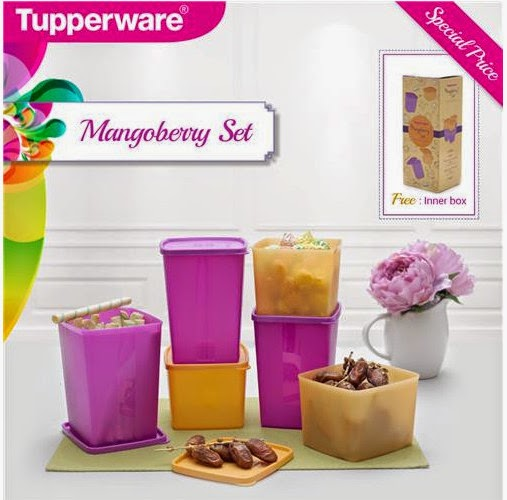 Tupperware Mangoberry Set Promo
