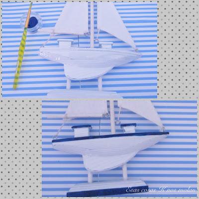 pintando velero