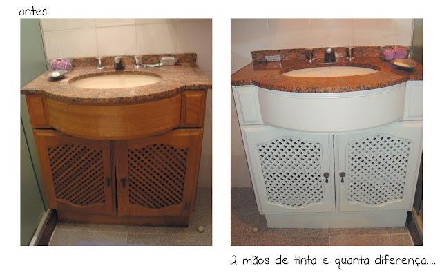 Casa de Colorir Banheiro de fim de semana -> Tinta Para Pintar Armario De Banheiro