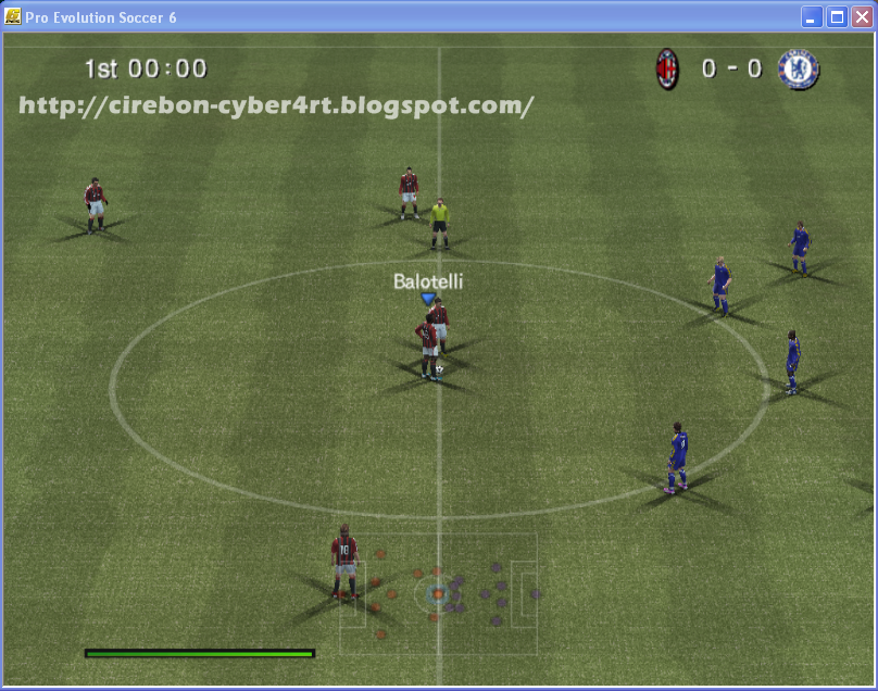 Free Download Pro Evolution Soccer 6 (WE 10) Full Version