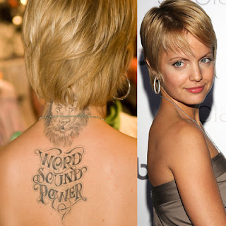 Female Celebrity Tattoo Picture Gallery
