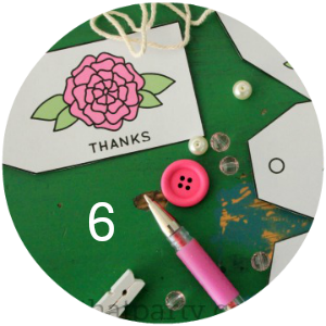 FREE printable pink rose thank you tags