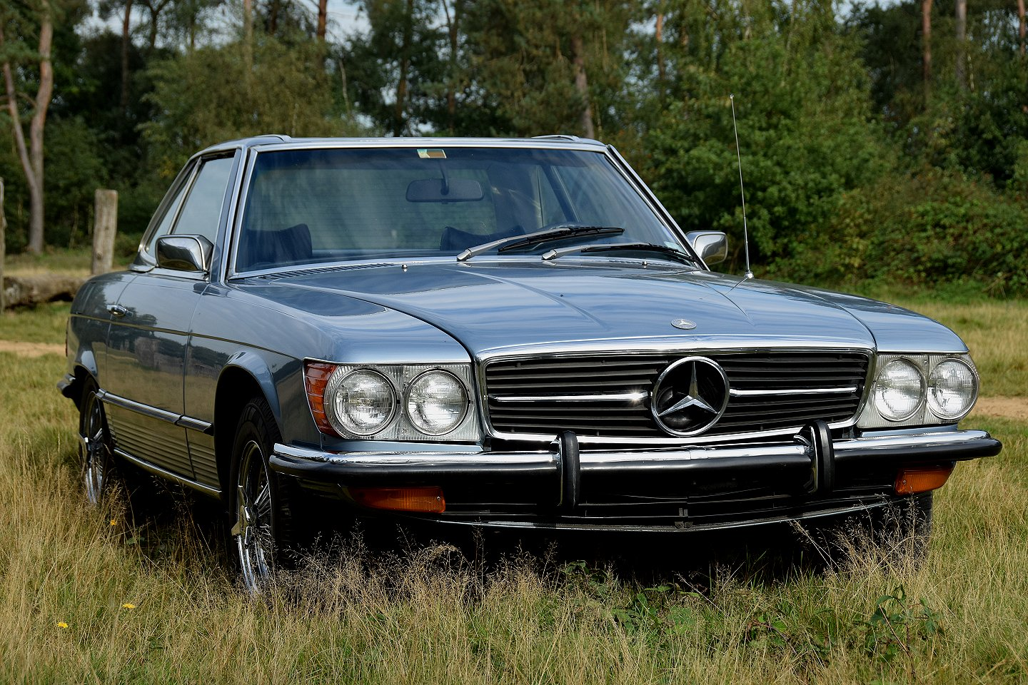 Stuurman classic and special cars mercedes benz 450 sl for Mercedes benz care
