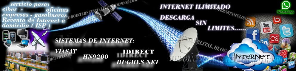 ..::TODO  INTERNET  SATELITAL::..