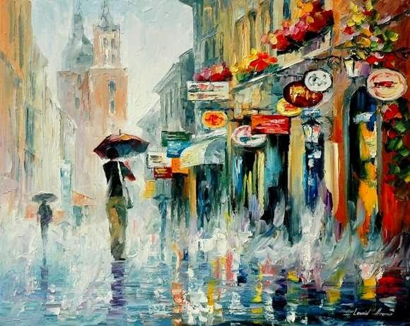 Lukisan Impressionisme Karya Leonid Afremov
