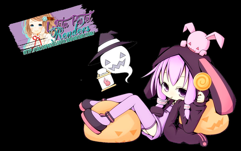 Yuzuki Yukari Halloween [Render]
