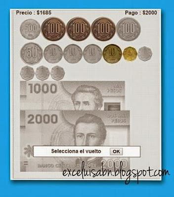 Cambio de dinero Pesos