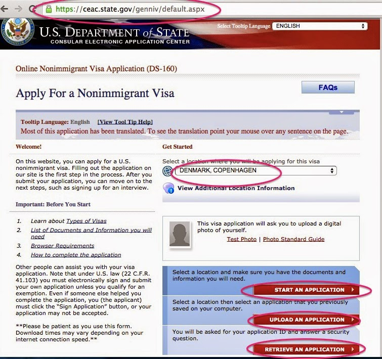 Philippine passport applying for a US tourist visa (DS-160 form ...