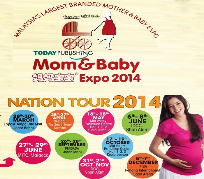 Mom & Baby Expo 2014 | Info | Shaklee | Sungai Buloh | Setiawangsa