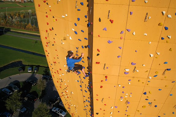 Highest Climbing Wall in the World Pics