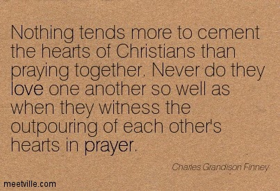 praying together quotes
