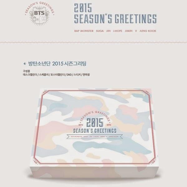 Enjoy smart world bts 2015 season greeting 1dvd calendar httpebayitmbts 2015 season greeting 1dvd calendar scheduler sticker new year card 111542375687 m4hsunfo