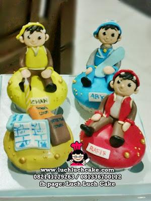 Cupcake Boboiboy Daerah Surabaya - Sidoarjo