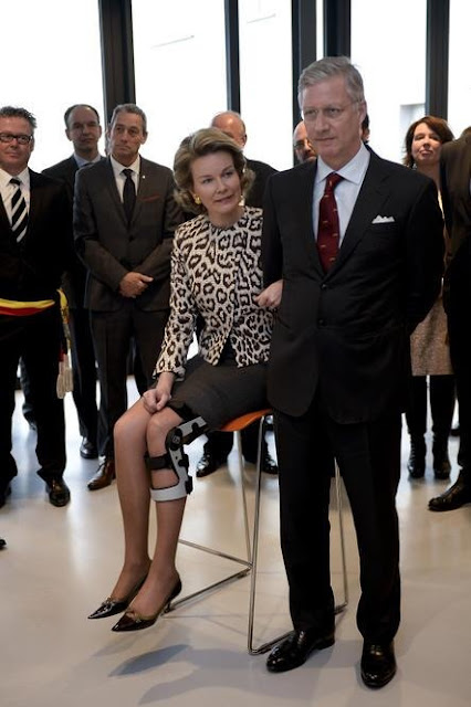 King Philippe of Belgium and Queen Mathilde