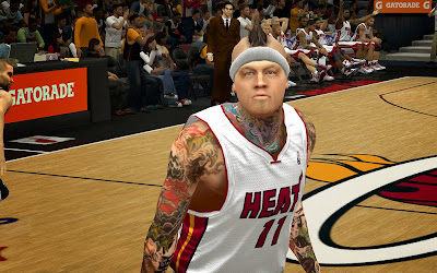 NBA 2K14 Chris Andersen Cyberface Patch