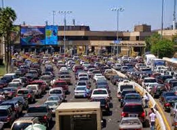 Tráfico en México