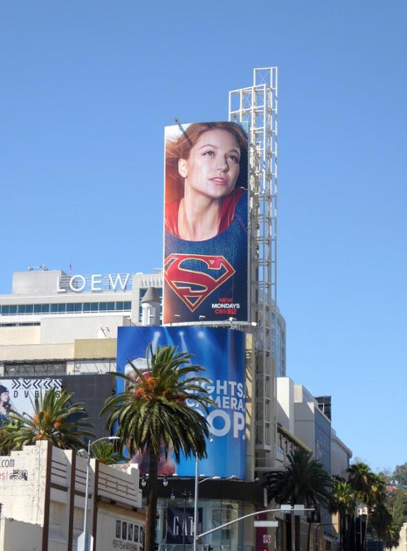 Supergirl series premiere billboard