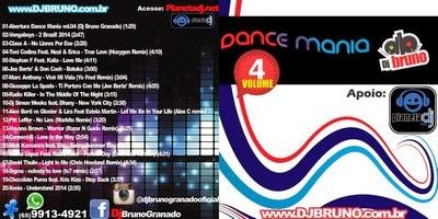 Dj Bruno Granado Dance Mania Vol.4 MP3 2014