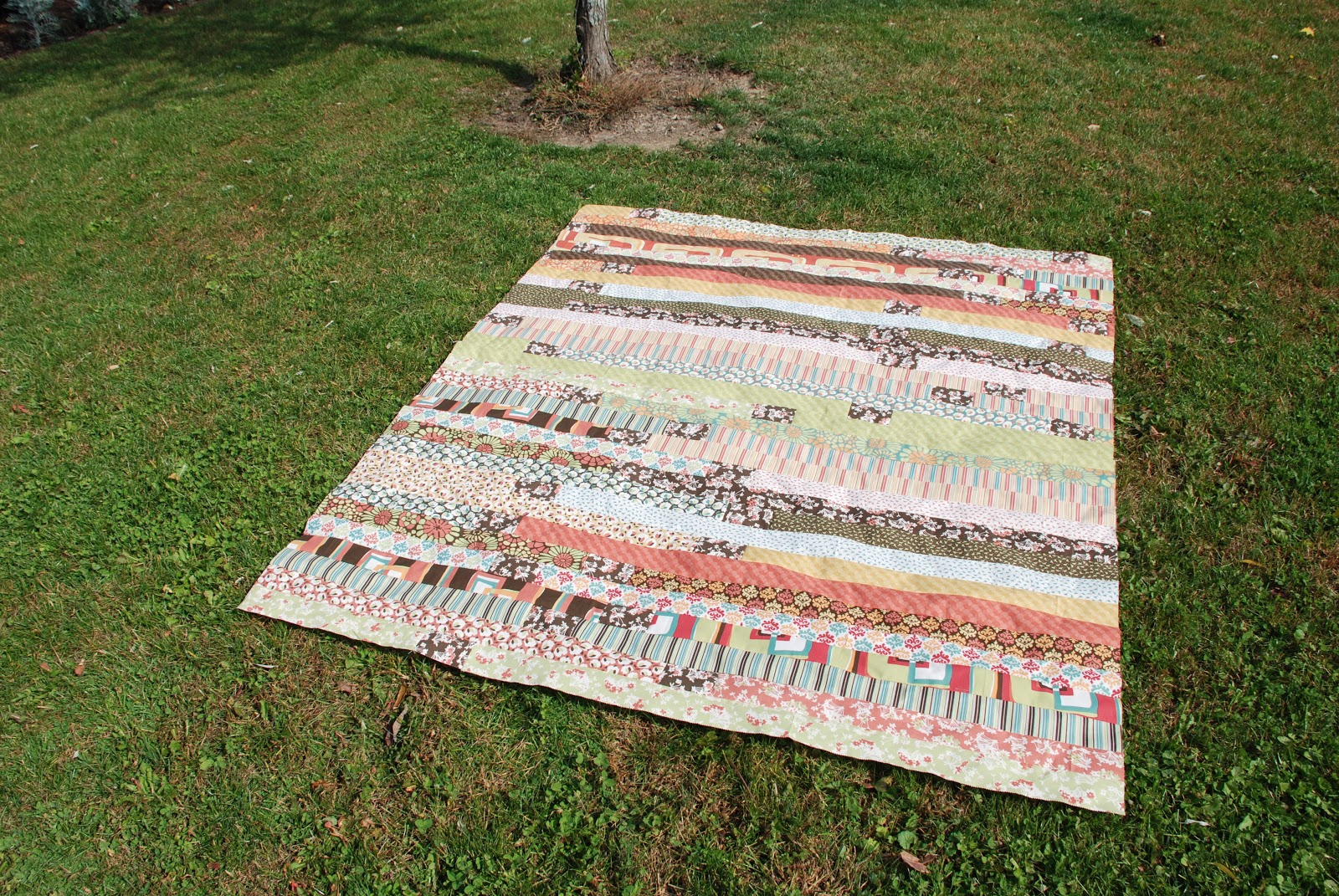 Spun Sugar Quilts: Jelly Roll Race #3
