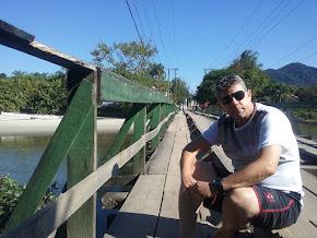 Ponte sob Praia de Juqueí