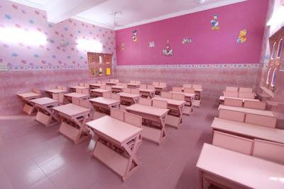 Jagadguru Kripalu Balika Primary School (KBPS) Classroom