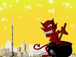 Obrolan Setan Gemuk Dan Setan Kurus
