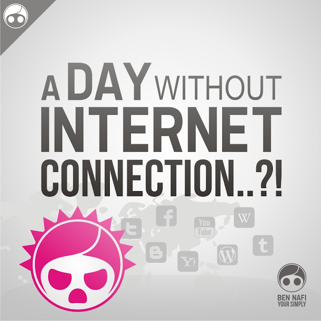 A Day Without Internet Connection   Ben Nafi   Art & Design