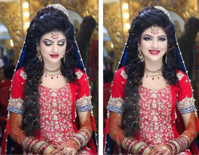 Beautiful Makeup For Brides Latest Fashion In Pakistan