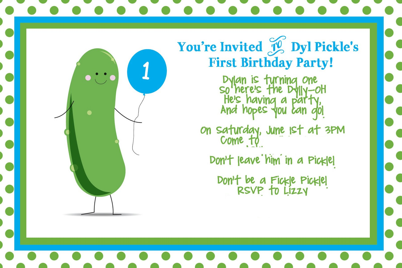 Cute First Birthday Invitation Wording for great invitations template
