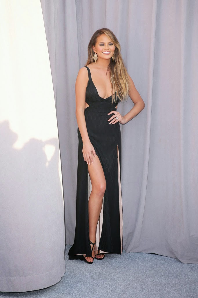 Model, Actress @ Chrissy Teigan - The Comedy Central Roast Of Justin Bieber in Los Angeles