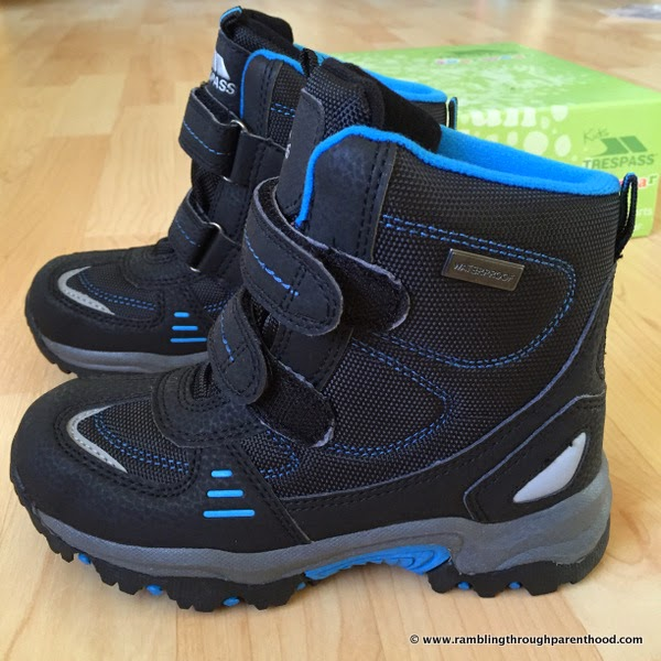 These boots are made for walking - Giz Gaz by Trespass