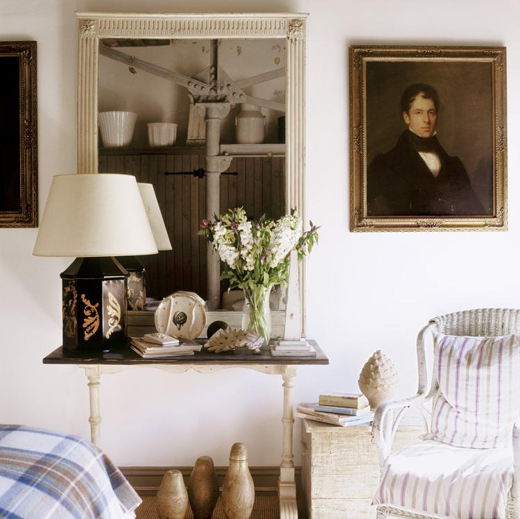 House tour a cottage bord de mer cottagestyleblogs - Salon style bord de mer ...