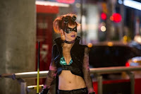 Lindy Booth as Night-Bitch in Kick-Ass 2